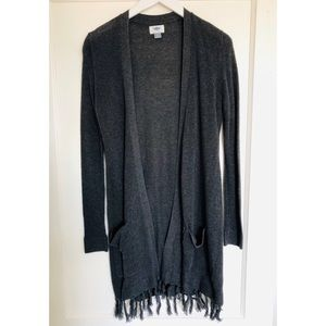 Old Navy Fringe Trim Sweater